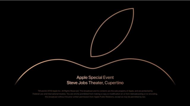 Apple 20180913 カンファレンス